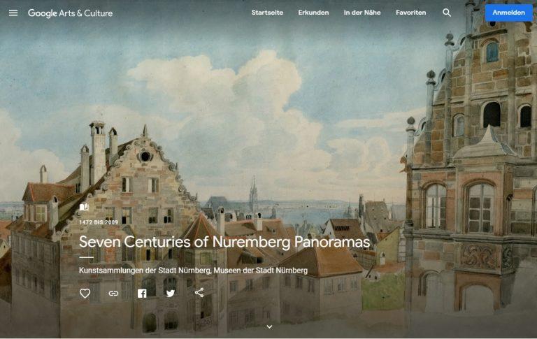 Nürnberger Panoramen in virtueller Ausstellung