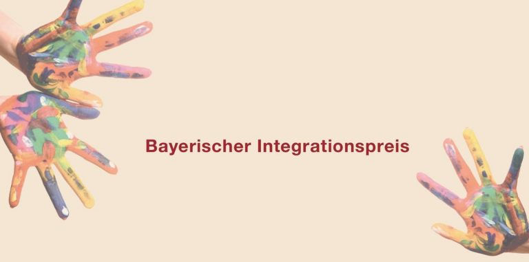 AUSSCHREIBUNG FÜR BAYERISCHEN INTEGRATIONSPREIS 2021 GESTARTET