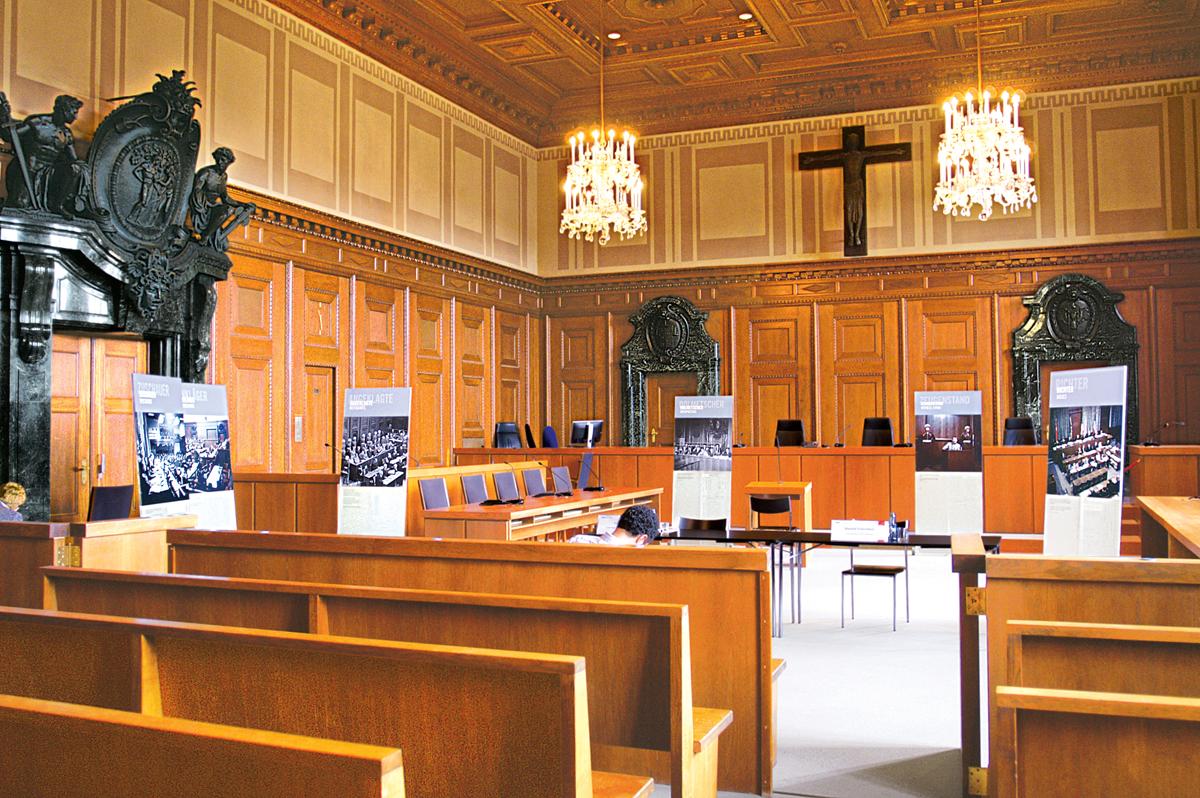 JUSTITZPALAST IN NÜRNBERG SOLL UNESCO-WELTKULTURERBE WERDEN